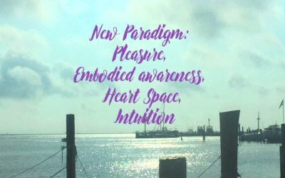 New Paradigm: Pleasure, Embodied awareness, Heart Space, Intuition
