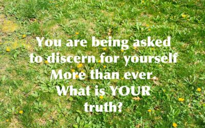 Facts aren't enough. Use discernment